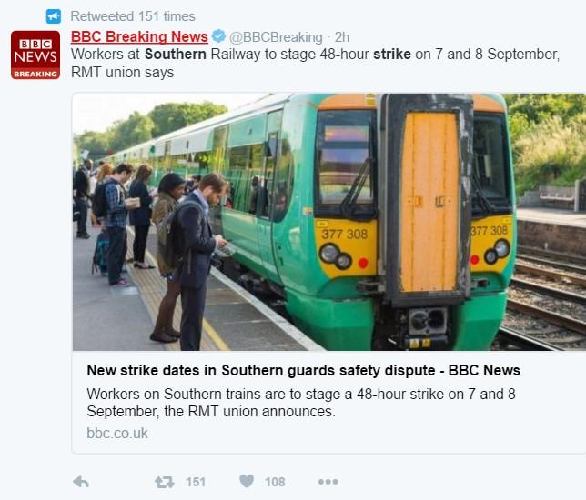 Southern Rail strike