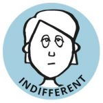 indifferent
