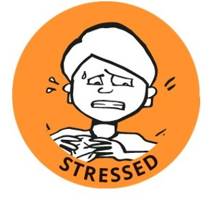 stressed
