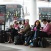 queue, late, delay, coach, wait, stop