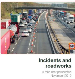 Incidents and delays report cover