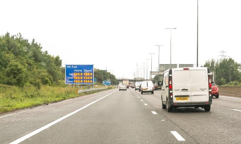 M5 fuel price trial