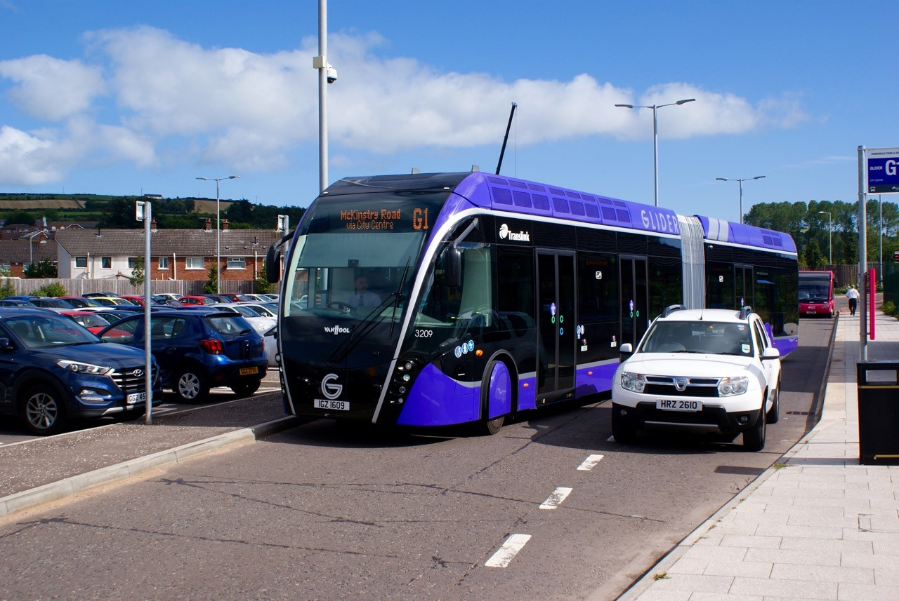 New Glider Bus Service Takes Off In Belfast Does It Work
