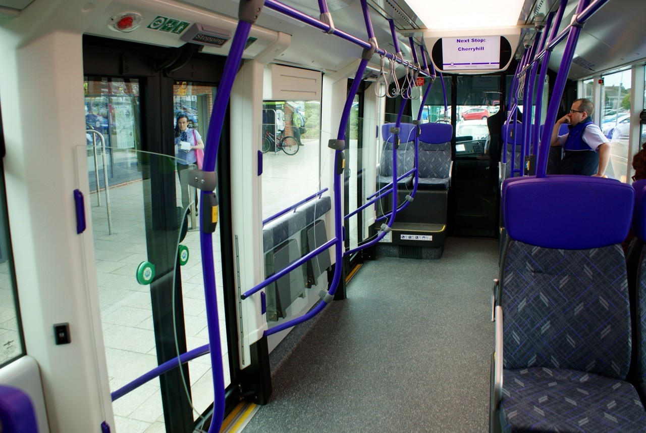 new glider bus service takes off in belfast does it work. Black Bedroom Furniture Sets. Home Design Ideas